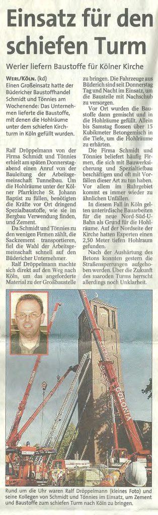 Westfalenpost 05.10.2004